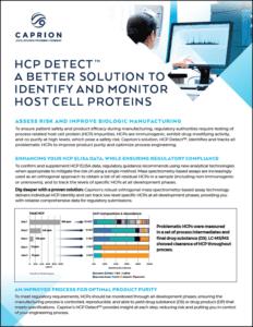HCP Detect brochure screenshot