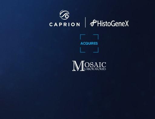 CAPRION-HISTOGENEX ACQUIRES MOSAIC LABORATORIES